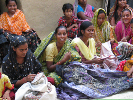 Women Embroidery Artisans In India
