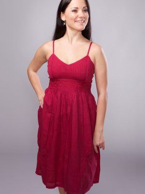 Sajani Magenta Sundress DS-1.1