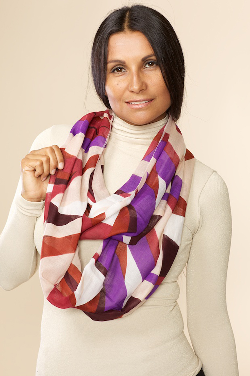 sudeva multi infinity scarf sevya fair trade wholesale