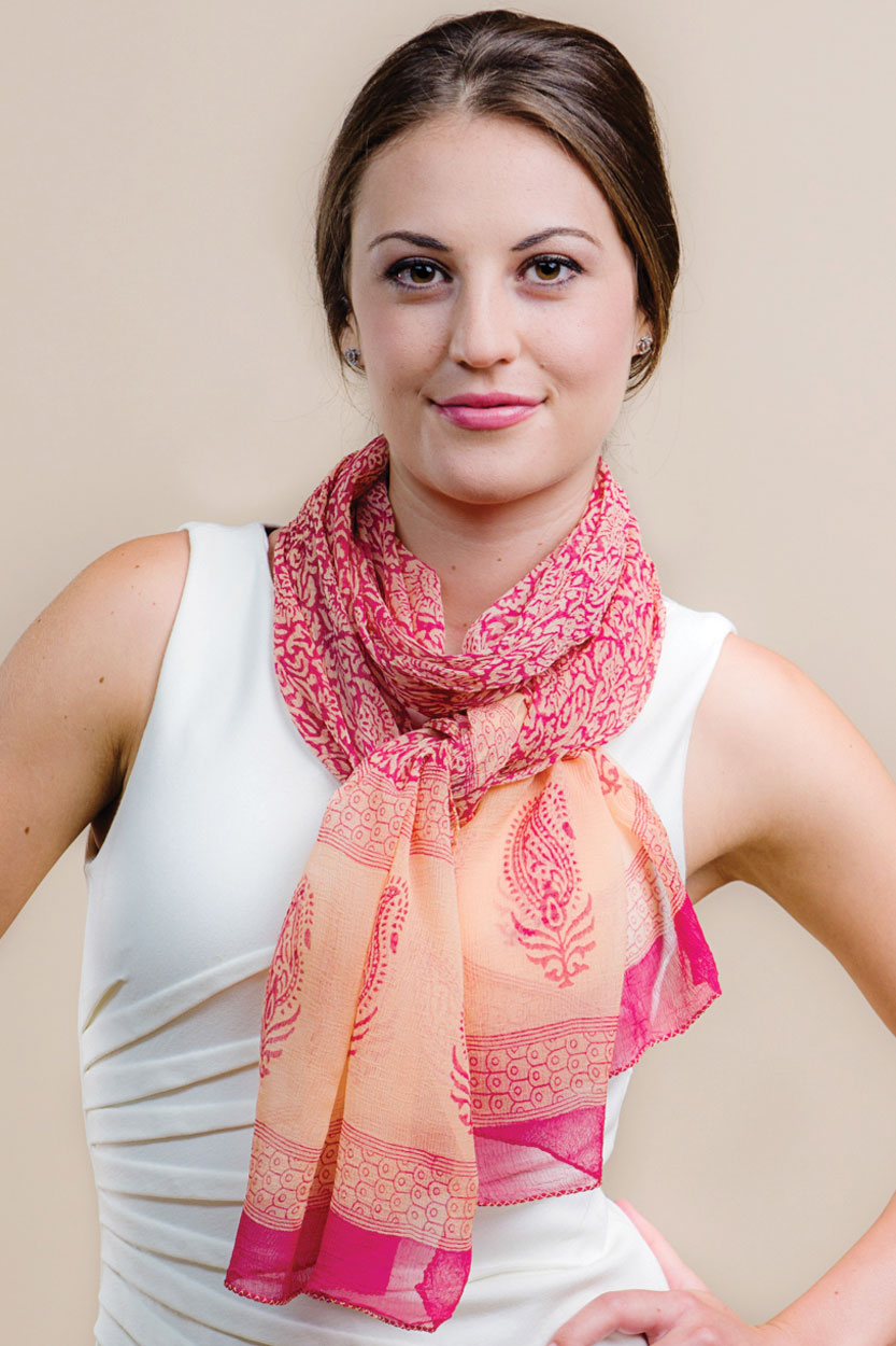 chiffon scarf sevya fair trade scarves collection