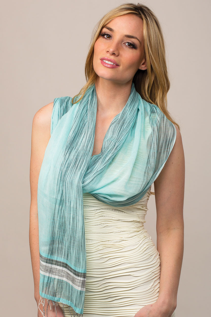 mahiya ikat scarf sevya fair trade wholesale