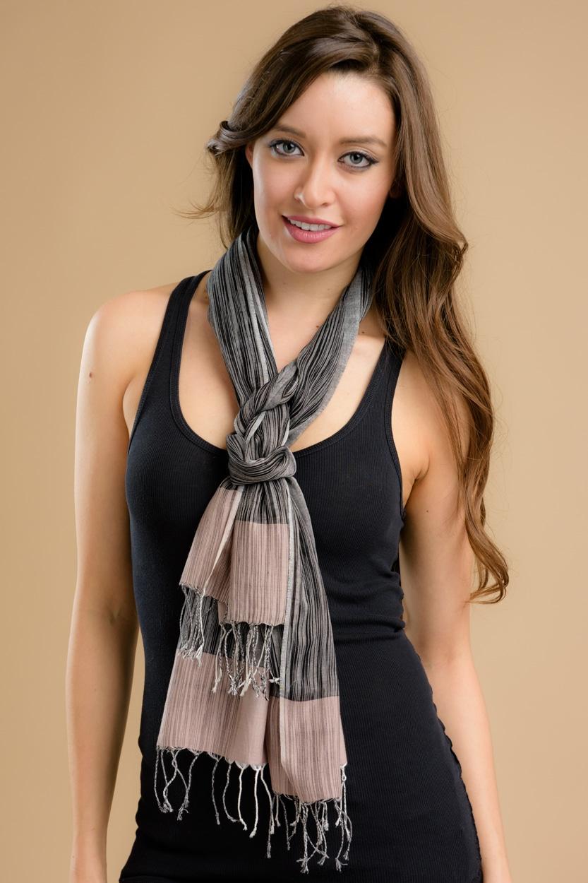 Tarita Ikat Scarf Sc 215 5 Wholesale Fair Trade Clothing