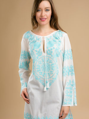 Fair Trade Sky Blue Tunic from India