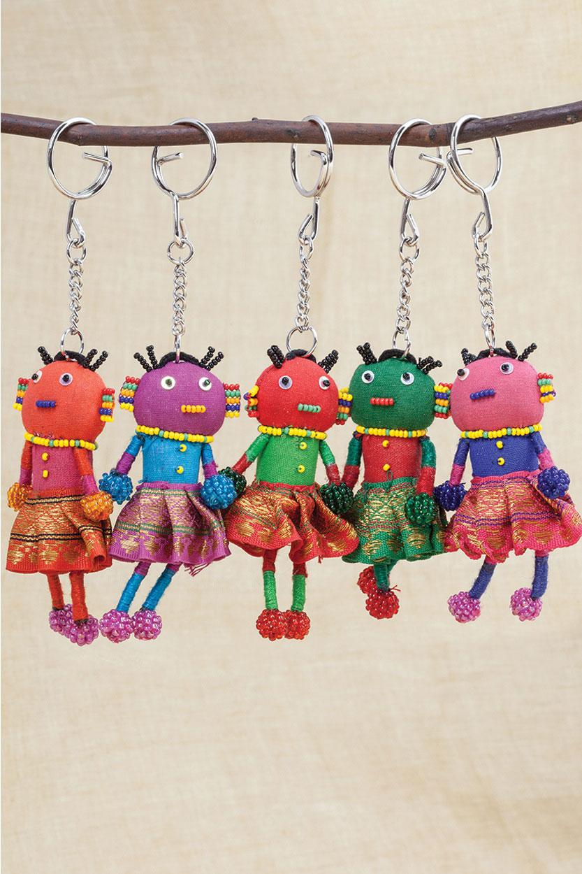 Fair Trade Keychain from India
