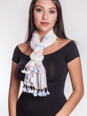 Fair Trade Tassel Scarf from India