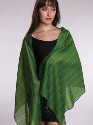 Reva Silk Wool Scarf SC-238.7
