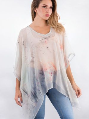 Fair Trade Cotton Ponchos from India