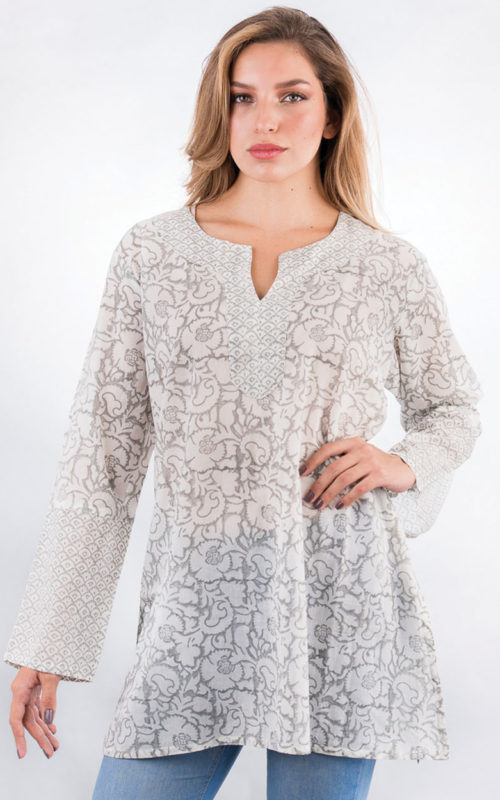 Soft Fair Trade Cotton Tunic from India