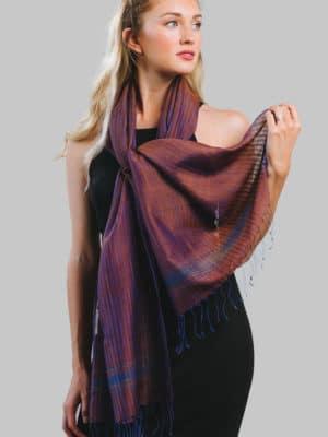Raga Silk & Wool Scarf SC-267.5